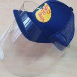 2-Apsauginis skydelis Visor tvirtinimui ant kepurės1